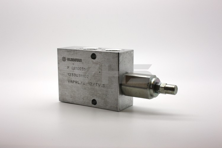 "Oleostar 1/2"" Pressure Reducing Valve, 40-110 Bar Spring"