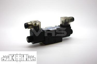Aron Cetop 3 Valve All Ports Blocked 24V DC, Reduced Size Coils