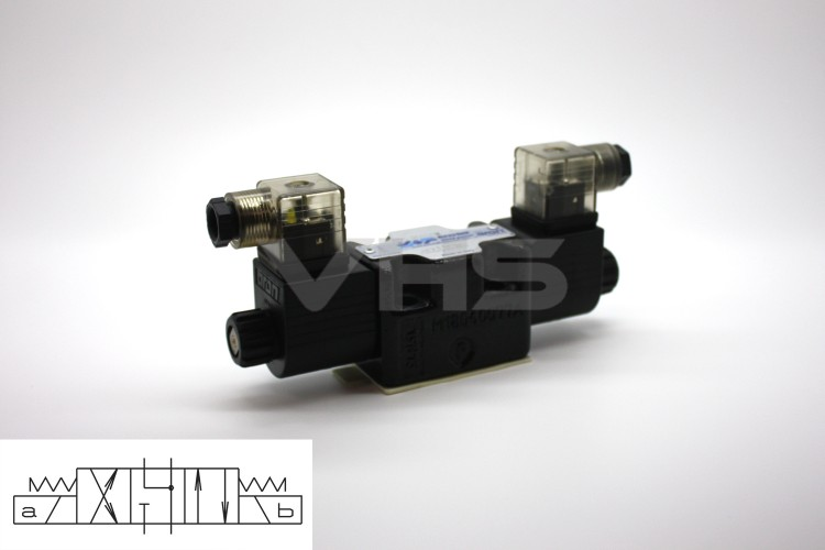 Aron Cetop 3 Valve A & B to T 24V DC, Reduced Size Coils