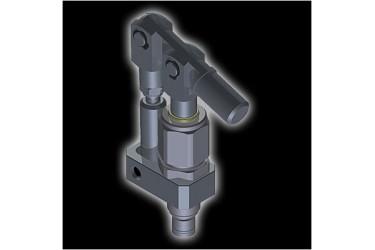 HV Single Acting Powerpack Handpump 7.5CC 7/8-14 UNF