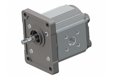 Brevini OT Group 1 Aluminium Gear Pump, 1.1cc/rev Flanged ports