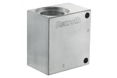 """Bosch Rexroth A12C017 (1/2"""" BSP) Aluminium Special Cav"""