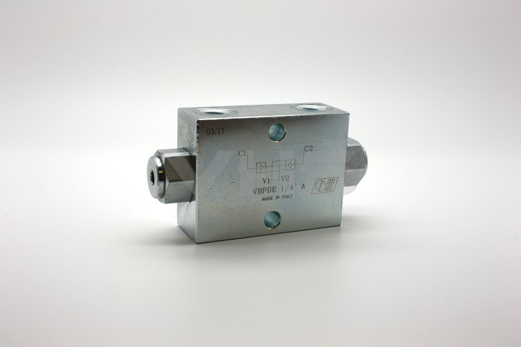 "Marchesini 1/4"" Dual Pilot Operated Check Valve"