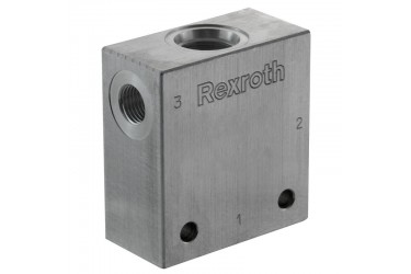 "Bosch Rexroth A-14CA-08A-3N (1/4"" BSP) Aluminium"