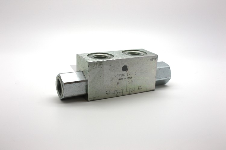 "Marchesini 1/2"" Dual Pilot Operated Check Valve"