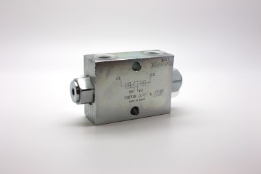 "Marchesini 3/8"" Dual Pilot Operated Check Valve"