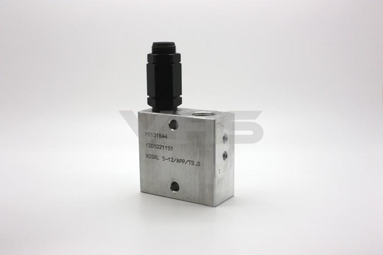 "Oleostar 1/2"" Direct Control Sequence Valve, 35 L/min, Back Pressure Proof"