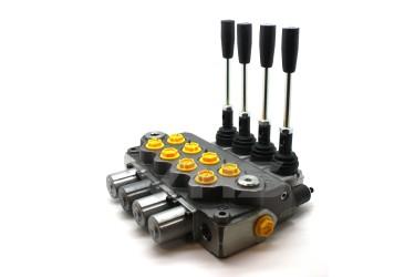 "Walvoil SD11 1/2"" 4 Bank Directional Control Valve"